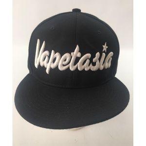 Crown Vapetasia Flat Cap Hat